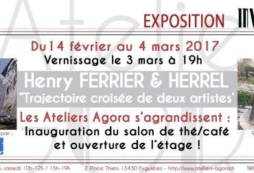 Henry FERRIER & HERREL «Trajectoire croisée de deux artistes»