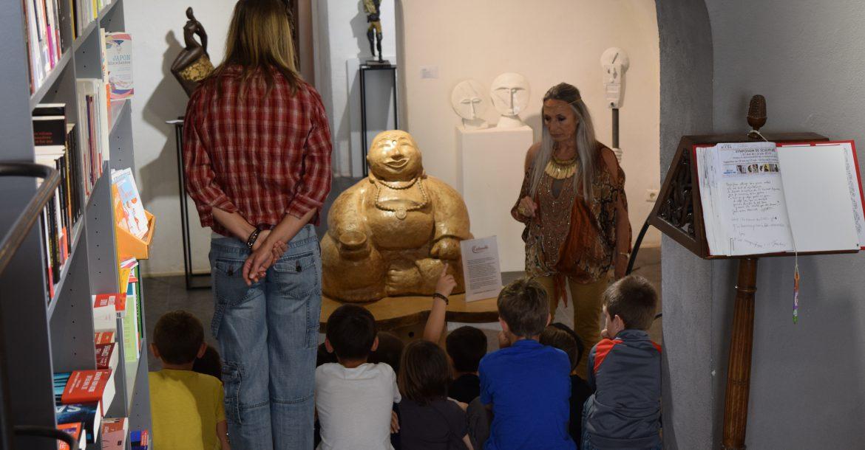 Le symposium de sculptures, les 2,3 et 4 mai