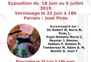 Trois évènements autour «DES HOMMES ET DES TAUREAUX» du 18.06 au 6.07