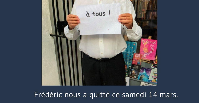 Disparition de Frédéric Baranger